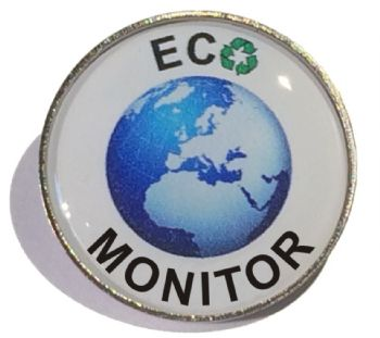 ECO MONITOR round badge